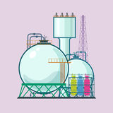 Industrial Plant  Stock Image