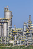 Industrial plant with silos Stock Photos