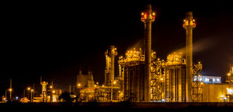 Industrial plant Stock Photography