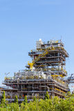 Industrial plants are currently under construction Stock Images
