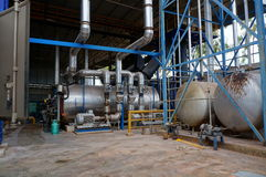 Industrial plants Stock Photos