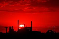 Industrial platform Stock Images