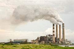 Industrial Pollution Royalty Free Stock Photos