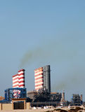 Industrial pollution Royalty Free Stock Photography