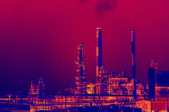Industrial pollution Royalty Free Stock Images