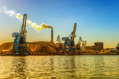 Industrial pollution Royalty Free Stock Image