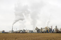 Industial pollution Royalty Free Stock Photography