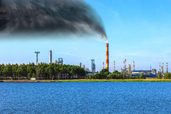 Industrial pollution Royalty Free Stock Photo