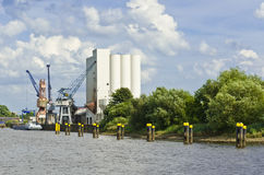 The industrial port Stock Photography