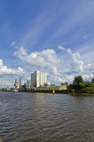 The industrial port Royalty Free Stock Photography