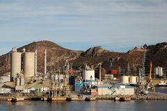Industrial port Stock Photography