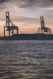 Industrial port Stock Photos