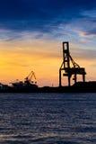 Industrial port Stock Photo