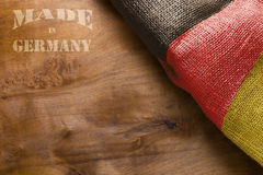 Industrial poster - Made in Germany Royalty Free Stock Photo