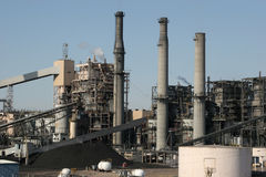 Industrial power plant Stock Photo