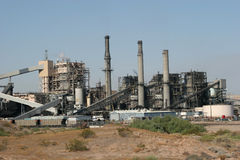 Industrial Power Plant Royalty Free Stock Image