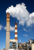 Industrial power plant Stock Images