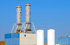 Industrial power plant Stock Photography