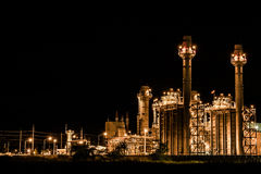 Industrial power plant Royalty Free Stock Photography