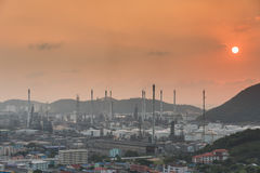 industrial power plant oil station Stock Photography