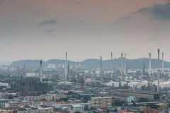 industrial power plant oil station Stock Image
