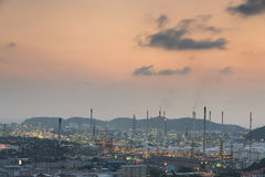 industrial power plant oil station Stock Images