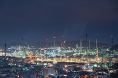 industrial power plant oil station Royalty Free Stock Photography