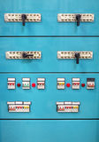 Industrial power supply control panel Stock Image