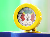 Industrial Pressure Gauge Royalty Free Stock Photo