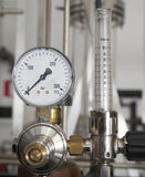 Industrial pressure manometer Stock Photography