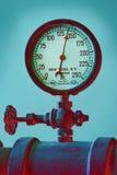 Industrial pressure valve Stock Image