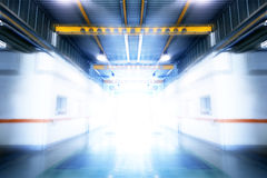Industrial process.Interior industrial building Royalty Free Stock Images