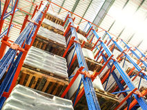 Industrial product warehouse Royalty Free Stock Photo