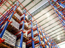 Industrial product warehouse Stock Photography