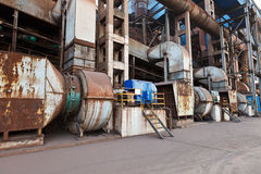 Industrial production equipment Royalty Free Stock Photos