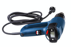 Industrial programmable heat gun with LCD display Royalty Free Stock Photos