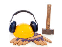 Industrial protection and tools Royalty Free Stock Photography