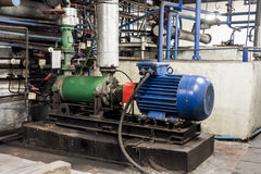Industrial pump Royalty Free Stock Image