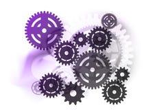 Industrial purple Stock Photo