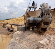 Industrial quarries Stock Images