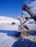 Industrial quarries Stock Photography