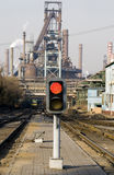 Industrial rail yard  Royalty Free Stock Photos