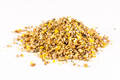 Industrial raw cattle feed special food Stock Photo