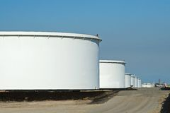 Industrial Refinery Royalty Free Stock Image