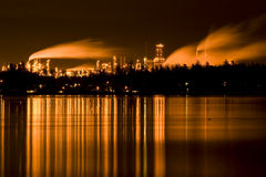 Industrial refinery Royalty Free Stock Images
