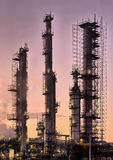 Industrial refinery, early morning Royalty Free Stock Photo