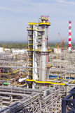 Industrial of refinery tower Stock Photography