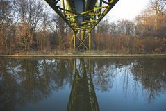 Industrial Reflection Royalty Free Stock Photo
