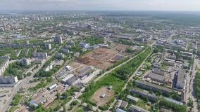 The industrial region of city Perm. stock video footage