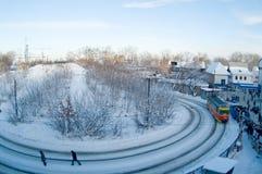 Industrial region of city Ufa 2 Stock Photography